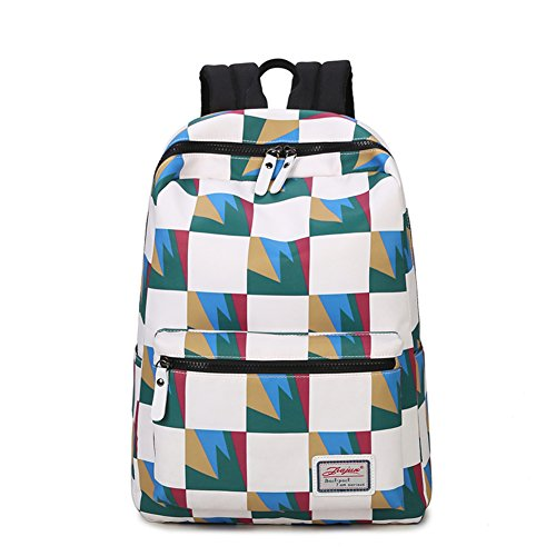 bandoulière dos le sac coréenne d'ordinateur Sac couleur toile en A B sac student femme sac à high à school de frapper Vague A76w75