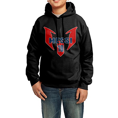 [XMAS Youth Soccer Star Leo Messi Pullover Hooded Sweatshirt L] (Do It Yourself Costumes 2016)
