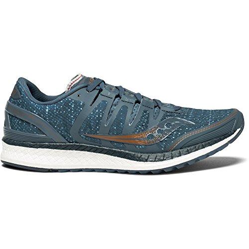 Zapatillas Liberty Deporte de Azul Copa Blu Saucony Mujer ISO Den 30 para dawqHEp