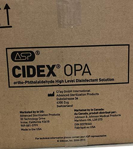 J&J JJ-20390-L Cidex OPA Solution, 1 gal, Shape by J&J (Image #1)