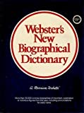 Webster's New Biographical Dictionary, Merriam-Webster, Inc. Staff, 0877795436