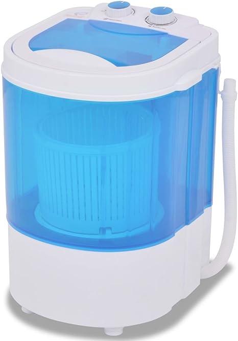 Tuduo - Mini lavadora de una sola cubeta, 2,6 kg, mini lavadora ...