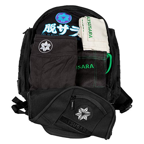 Datsusara BPM01 Hemp BattlePack Mini Backpack Black