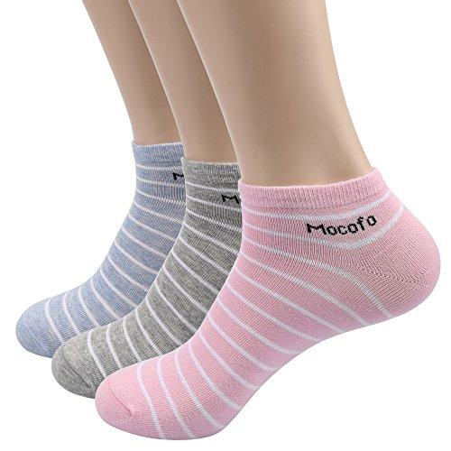 Mocofo Women's 3 Pairs Low Cut Casual Socks