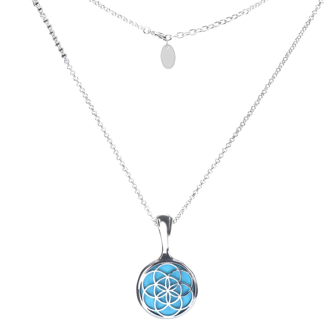 Sinfu Necklace Women Vintage Stainless Steel Pendant Sleep Fitness Monitor For Misfit Shine