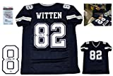 Jason Witten AUTOGRAPHED Signed Jersey - JSA Witnessed Authentic - NVY