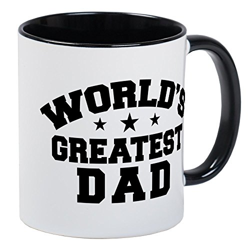 (CafePress World's Greatest Dad Mug Unique Coffee Mug, Coffee Cup )