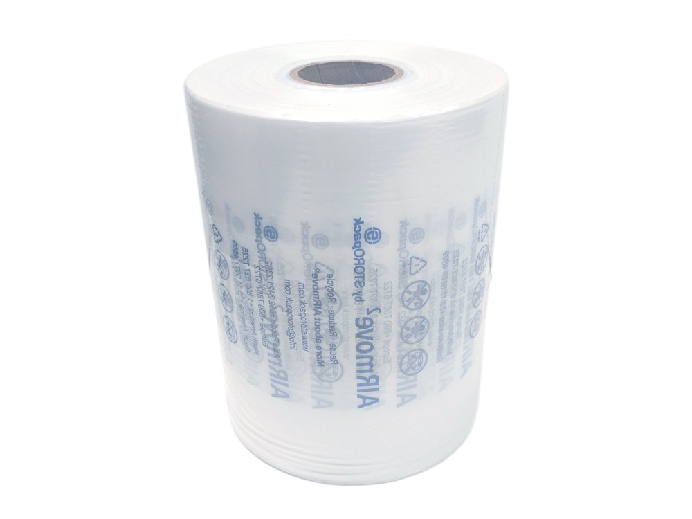 TSS Void S Roll Airmove Inflatable Packaging Air Film Roll 8'' x 1,150' x 4.72'' Perf, Clear, for AIRMove2 Machine by STOROpack by IDL Packaging