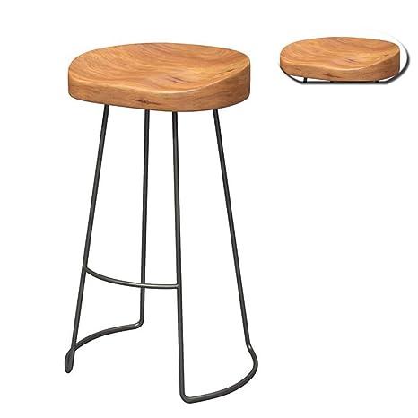Astonishing Amazon Com High Stool Retro Bar Barstool Kitchen Chair Forskolin Free Trial Chair Design Images Forskolin Free Trialorg