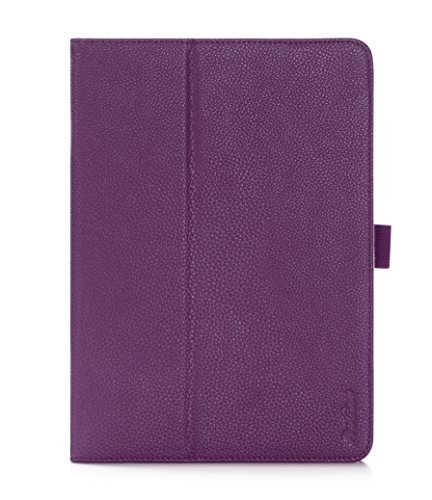 ProCase Samsung Galaxy Tab S2 9.7 Case - Stand Folio Cover Case for Galaxy Tab S2 Tablet (9.7 inch, SM-T810 T813 T815), with Hand Strap, auto Sleep/Wake (Purple)