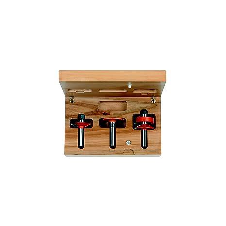 CMT Orange Tools 955.803.11 - Estuche 3 fresas para cocinas ...
