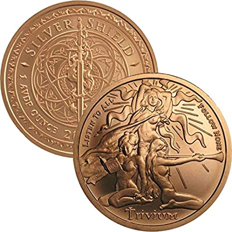 American Indian Series 6 Copper Round Set 6 1 oz .999 Copper Rounds