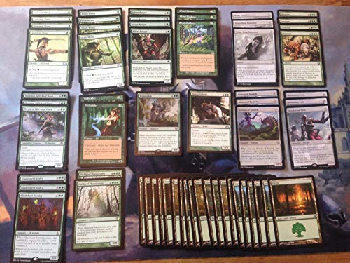 Mono Green Elf Ramp Deck - Modern Legal - Custom Built - Magic The Gathering - MTG - 60 Card
