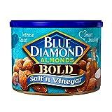vinegar and salt almonds - Blue Diamond Almonds, Bold Salt 'n Vinegar, 6 Ounce