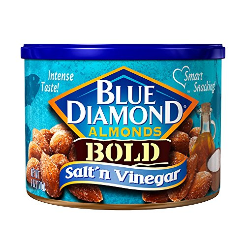 Blue Diamond Almonds, Bold Salt 'n Vinegar, 6 ()