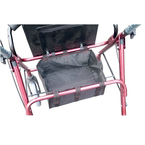 UNDER SEAT ROLLATOR BAG - REPLACEMENT BAG FOR 4 WHEEL WALKER