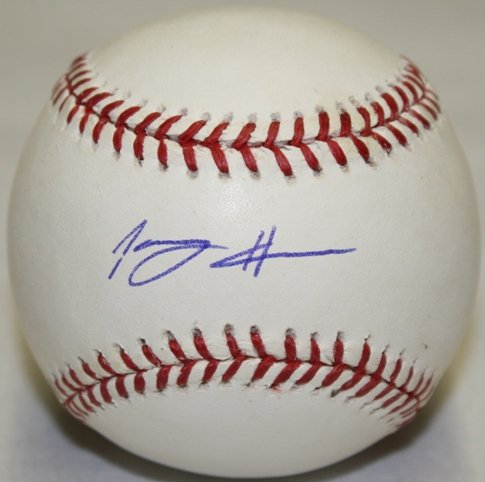 Tommy Hanson Signed Official Baseball The Sports Mix