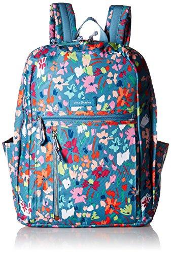 Vera Bradley Lighten Up Grand Backpack, Polyester, Superbloom Sketch