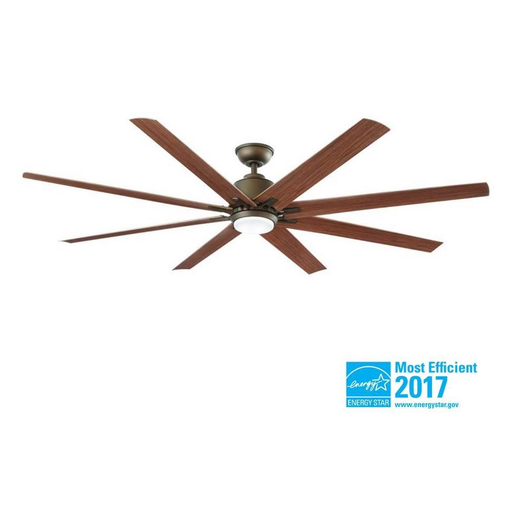 Home Decorators Collection Kensgrove 72 in. LED Indoor/Outdoor Espresso Bronze Ceiling Fan