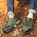 WOWEI Chaussures de Randonnée en Plein Air Imperméable Respirant Antidérapant Bottes de Trekking Promenades Voyages… 12