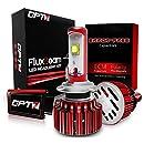 OPT7 Fluxbeam H7 LED Headlight Kit w/ Clear Arc-Beam Bulbs - 60w 7,000Lm 6K Cool White CREE - 2 Yr Warranty