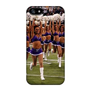 For Iphone Case, High Quality Minnesota Vikings Cheerleaders 2013 For Iphone 5/5s Cover Cases by lolosakes