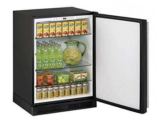 (U-Line U1224RW00B 5.2 cu. ft. Compact Refrigerator, White)