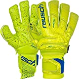 Reusch Fit Control Supreme G3 Fusion Ortho-Tec Soccer Goalkeeper Gloves, Size 10, Yellow