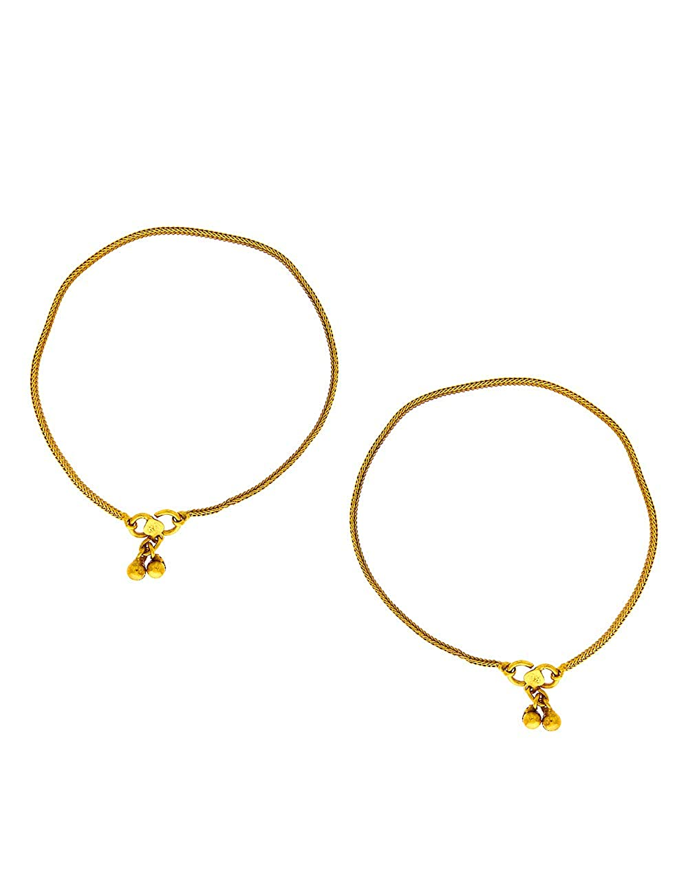 Anuradha Art Gold Tone Wonderful Classy Anklet//Payal for Women//Girls