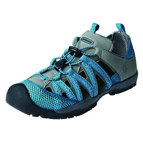 Northside Women's Santa ROSA Sport Sandal, Teal/Gray, Size 9 M US ()