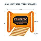 POWERTEC 71393 Dual Universal Featherboards for