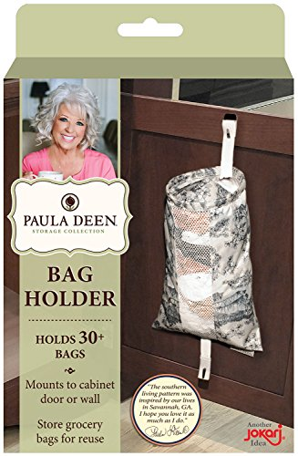 Cabinet Door Mounted Grocery Bag Holder - 5