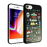 iPhone 7 8 CASEMPIRE Friends TPU Case Shock Proof Never Fade Slim Fit Cover for iPhone 7 8 Friends