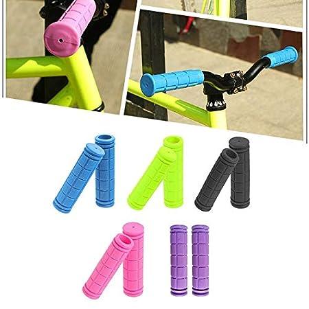 Goldyqin 1 Par Universal Bicicleta Bicicleta Manillar Cubierta Apretones Antideslizante Goma Suave Manillar Cubierta Accesorios De Ciclismo
