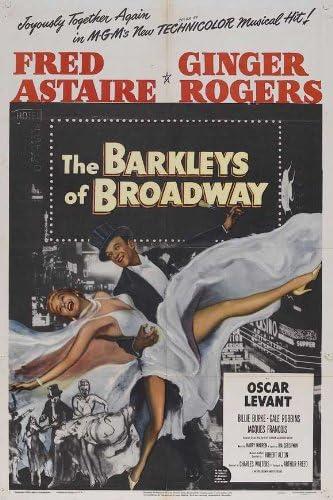 Amazon.com: Movie Posters The Barkleys of Broadway - 27 x 40: Prints:  Posters & Prints
