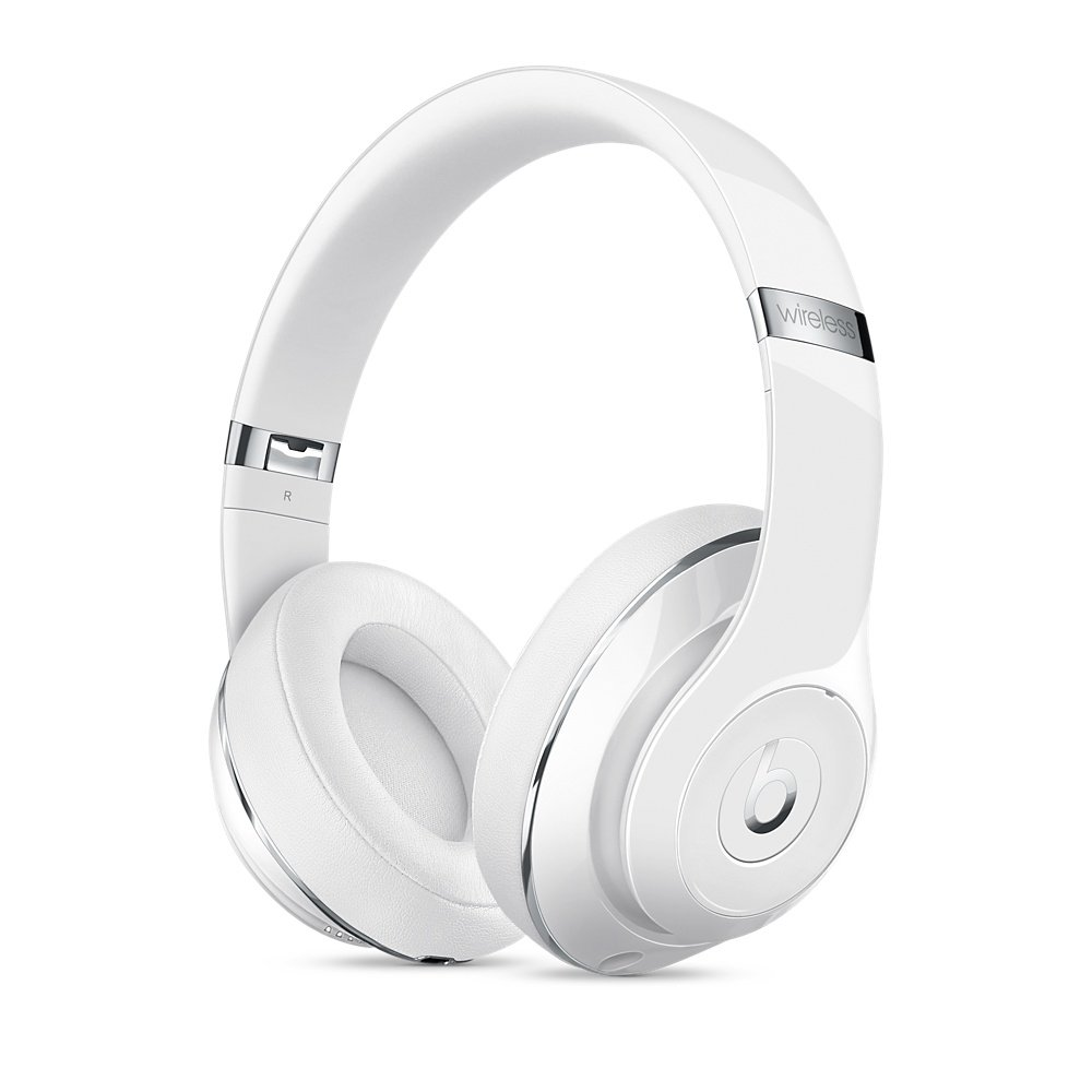 Beats Studio 2.0 Wireless Over Ear Headphone Gloss White by Beats