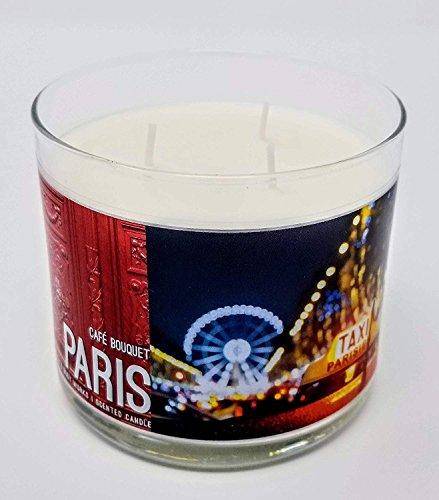 Bath Body Works Paris Cafe Bouquet 14.5 oz 3 Wick Candle