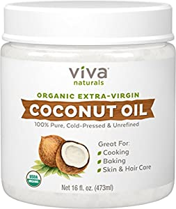 10. Viva Naturals Organic Extra Virgin Coconut Oil
