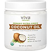 Viva Naturals Organic Extra Virgin Coconut Oil, 16 Ounce