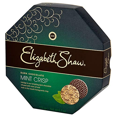 Elizabeth Shaw Mint Crisp Dark Chocolate (175g) - Pack of 2