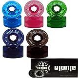 Purple Atom Pulse Outdoor Skate Wheels with Bionic Bearings