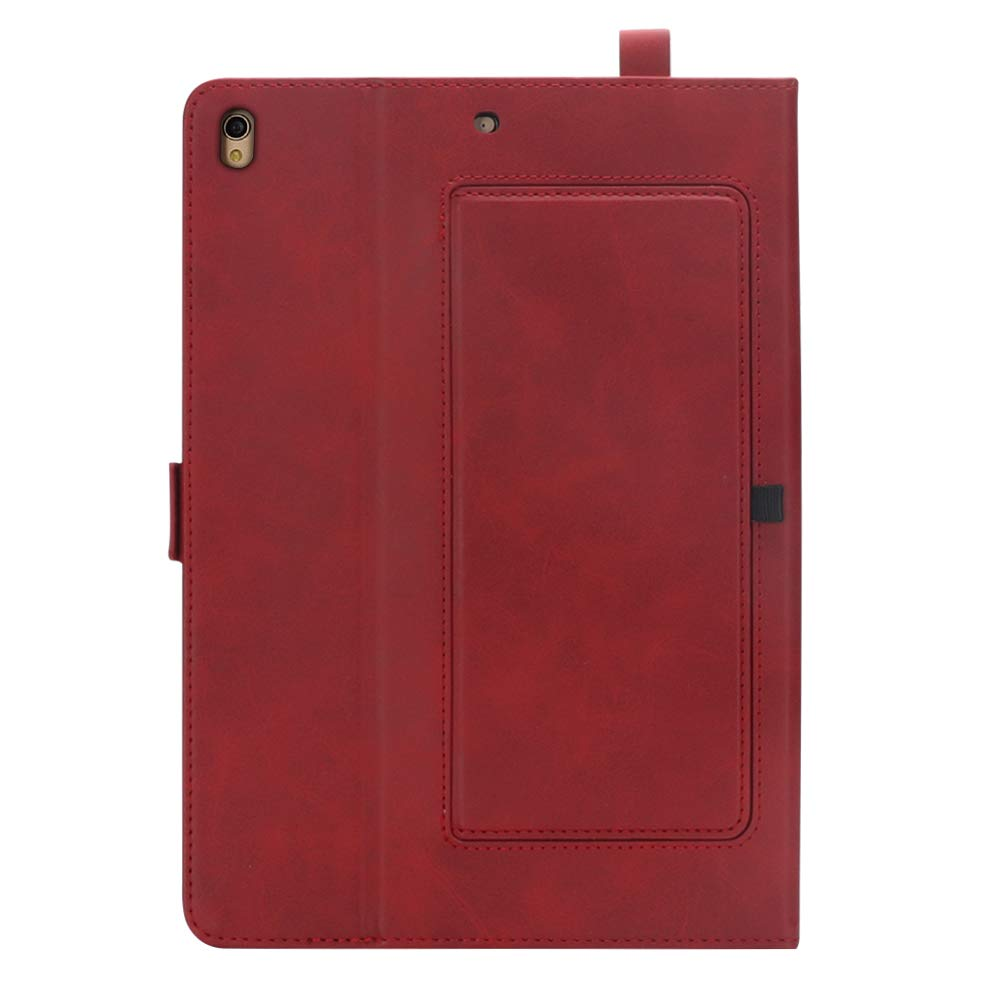 iPad 10.5 Air 3rd Generation Case, taStone Premium PU Leather Business Folio Cover Stand Case with Card Holder Auto Wake/Sleep Document Pocket for iPad Air 3rd Gen 2019 / iPad Pro 10.5'',Red by US taStone (Image #4)