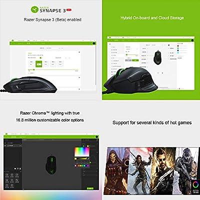 Razer Basilisk Wired Gaming Mouse 16000DPI RGB 5G Optical