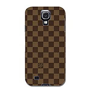 Custom Louis with Vuitton Design Simple Vintage 3D Hard Plastic Case Cover Snap on Samsung Galaxy S4 I9500