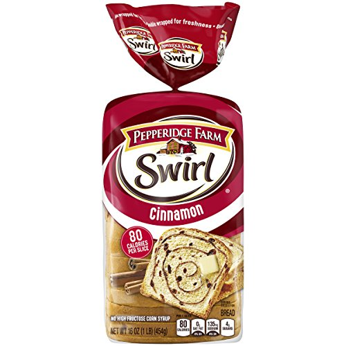 (Pepperidge Farm Swirl Cinnamon Breakfast Bread, 16 Oz bag, Pack of 1)