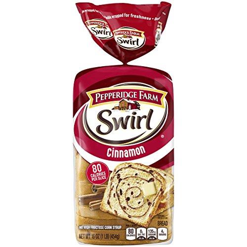 Cinnamon Swirl Bread - Pepperidge Farm Swirl Cinnamon Breakfast Bread, 16 Oz bag, Pack of 1