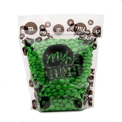 All Color M&M'S Bulk Candy Bag ( Green , 2 -