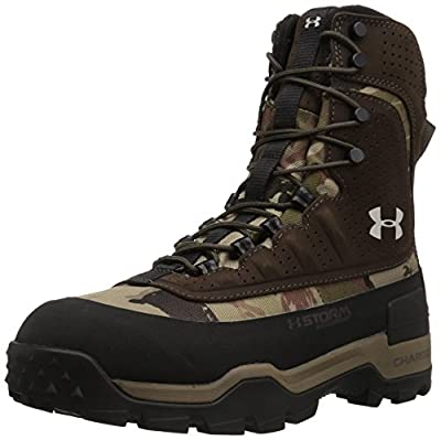 Under Armour Women's Brow Tine 2.0 400G Military and Tactical Boot, Ridge Reaper Camo Barren/Maverick Brown/Smoke