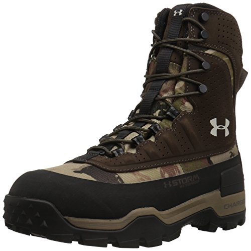 Under Armour Women's Brow Tine 2.0 400G, Ridge Reaper Camo Barren/Maverick Brown/Smoke, 9 B(M) US by Under Armour