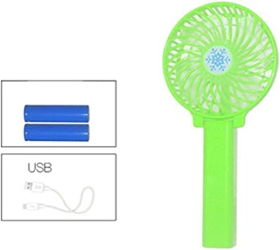 Yougou01 Electric Fan Color : Pink Comfortable and Convenient USB Small Fan That Can Be Folded 10.56.421.6cm//4.22.568.64 Inches, Blue//Pink//Green//Black Send Battery Plastic Material